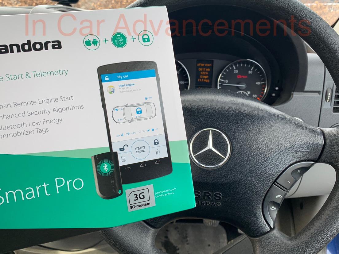 Mercedes Sprinter Pandora Smart Pro